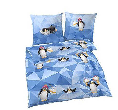 kinderbettw sche 135 200 von tr umsch n pinguin. Black Bedroom Furniture Sets. Home Design Ideas
