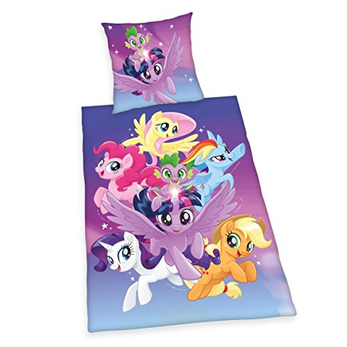 Herding Bettwäsche Set My Little Pony Baumwolle Bunt 200 X 135 Cm
