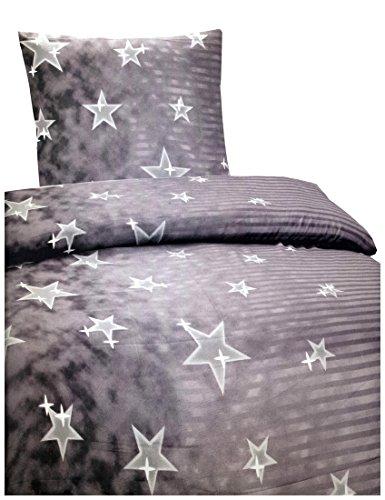warme winter microfaser thermo fleece bettw sche 135 200 155 220 200 200 moderne design motiv. Black Bedroom Furniture Sets. Home Design Ideas