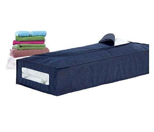 h l russel jumbo aufbewahrungstasche f r bettdecken marineblau hellblauer rand ainedab. Black Bedroom Furniture Sets. Home Design Ideas