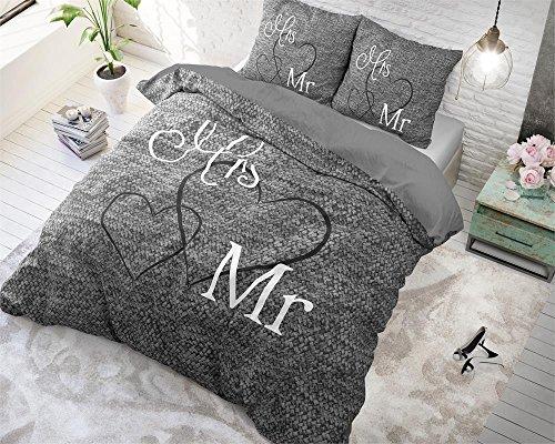 3 Tlg Renforcé Bettwäsche Set Bettdeckenbezug 240220 Cm Mit 2